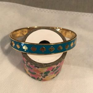 EUC Kate Spade live colorfully bangle
